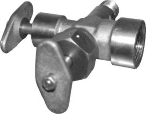 Клапан затворный DN 15 PN 15 МПа