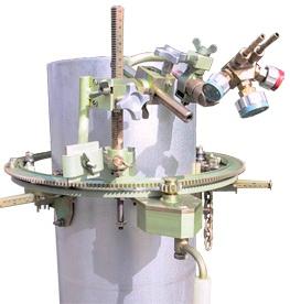 Машина для резки труб DN 159 — 325 с ручным планетарным приводом «Спутник-1″
