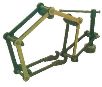 Центраторы ручные облегченные звенные для сварки труб DN 420-1420