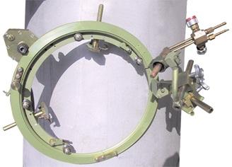 Машина для резки труб DN 159 — 325 с ручным фрикционным приводом «Спутник-2»
