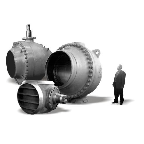 Капитальный ремонт шаровых кранов DN 300 — 1400 в Перми